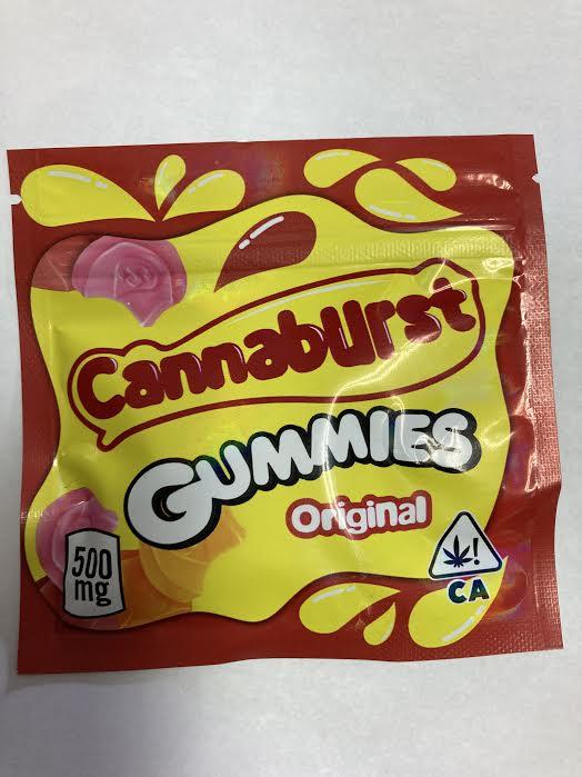 Cannaburst Gummies 500mg THC – Temple Medicinal